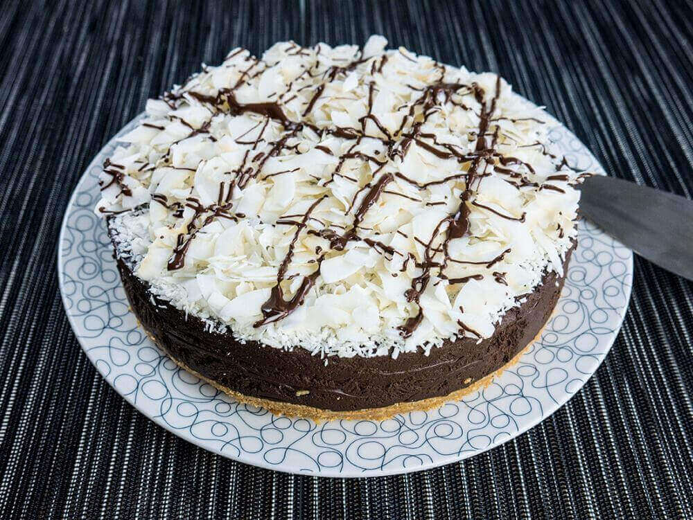 Vegan Hippo Super Rich Chocolate Cake