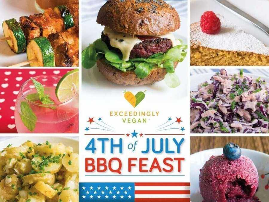 Vegan 4th Of July Bbq Feast Exceedingly Vegan