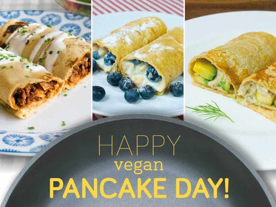 Happy vegan pancake day!
