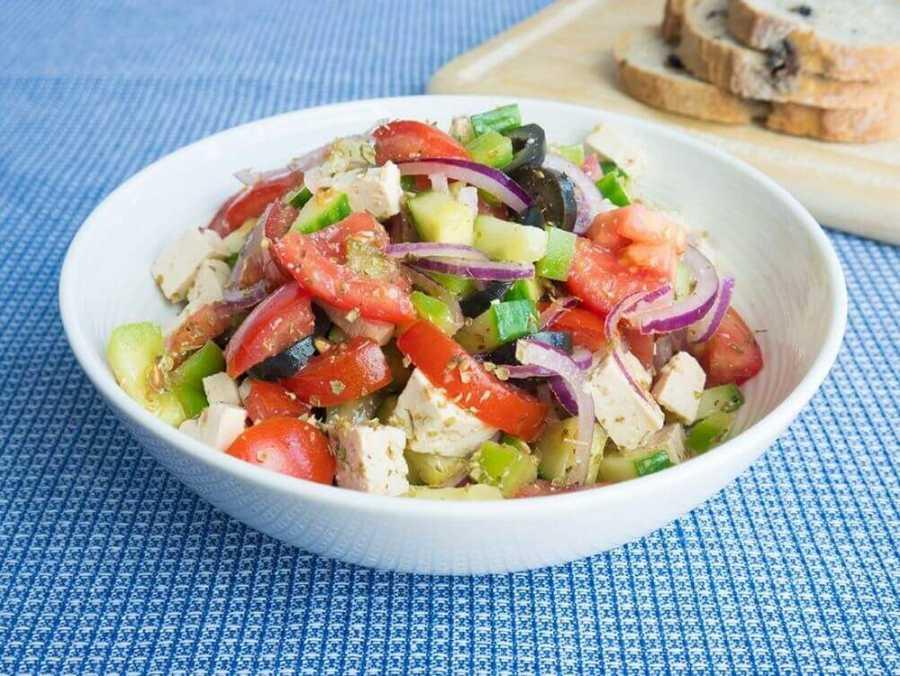 Greek Salad Recipe Veg