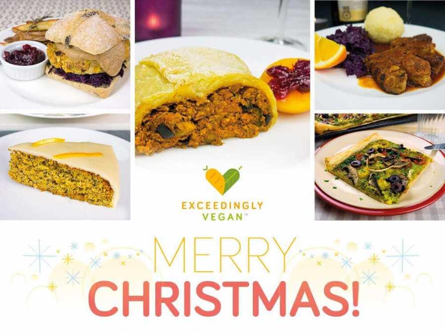 Christmas Meal.Exceedingly Vegan Christmas Meals Exceedingly Vegan