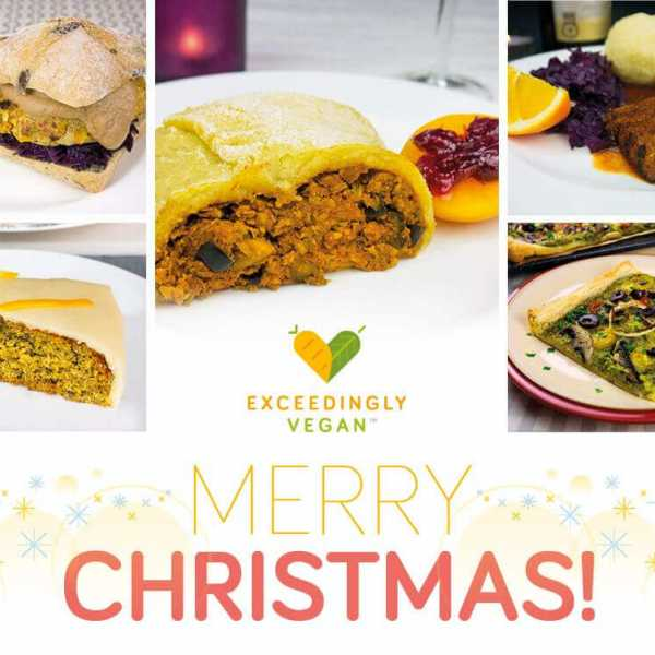 Exceedingly vegan Christmas meals