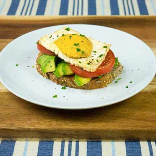 Vegan egg on toast, plantbased golden deliciousness and easy to make