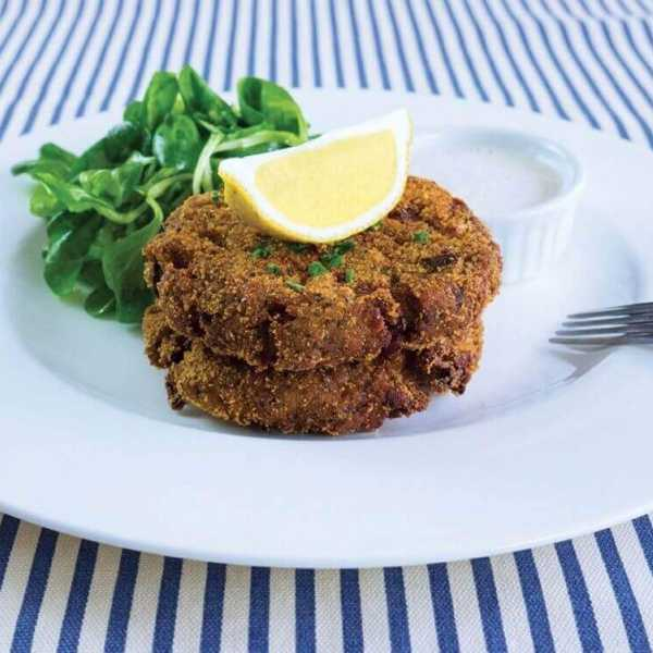 Vegan fish cakes