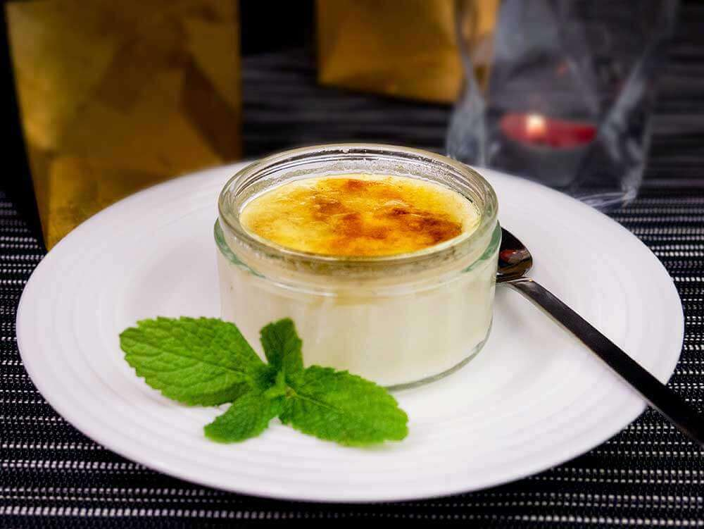 Vegan Creme Brulee Easy To Make And Low Fat Exceedingly Vegan
