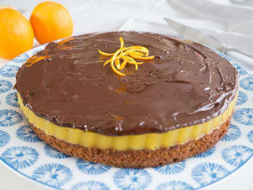 Dark Chocolate Jaffa Cakes