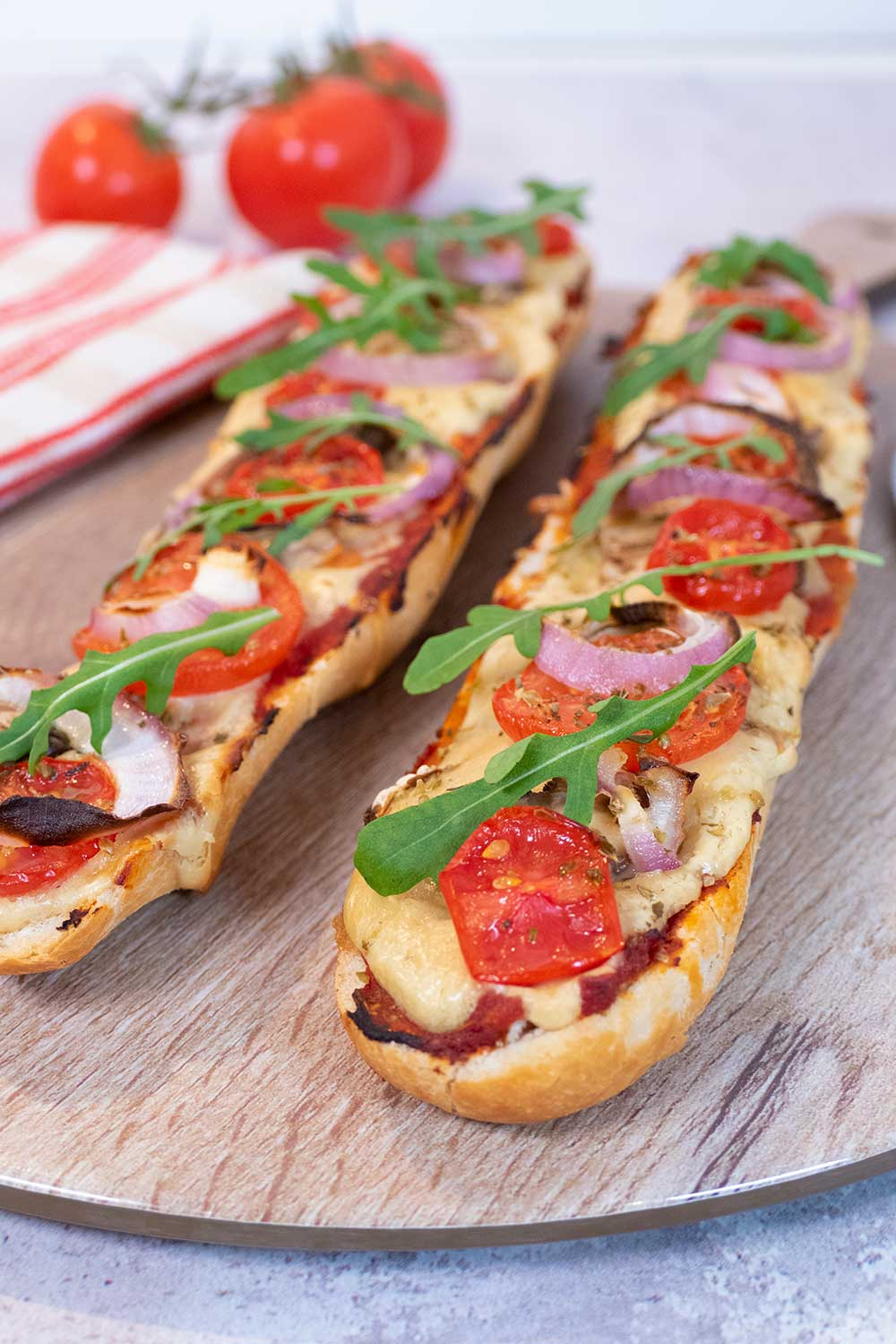 best vegan cheese pizza baguette recipes