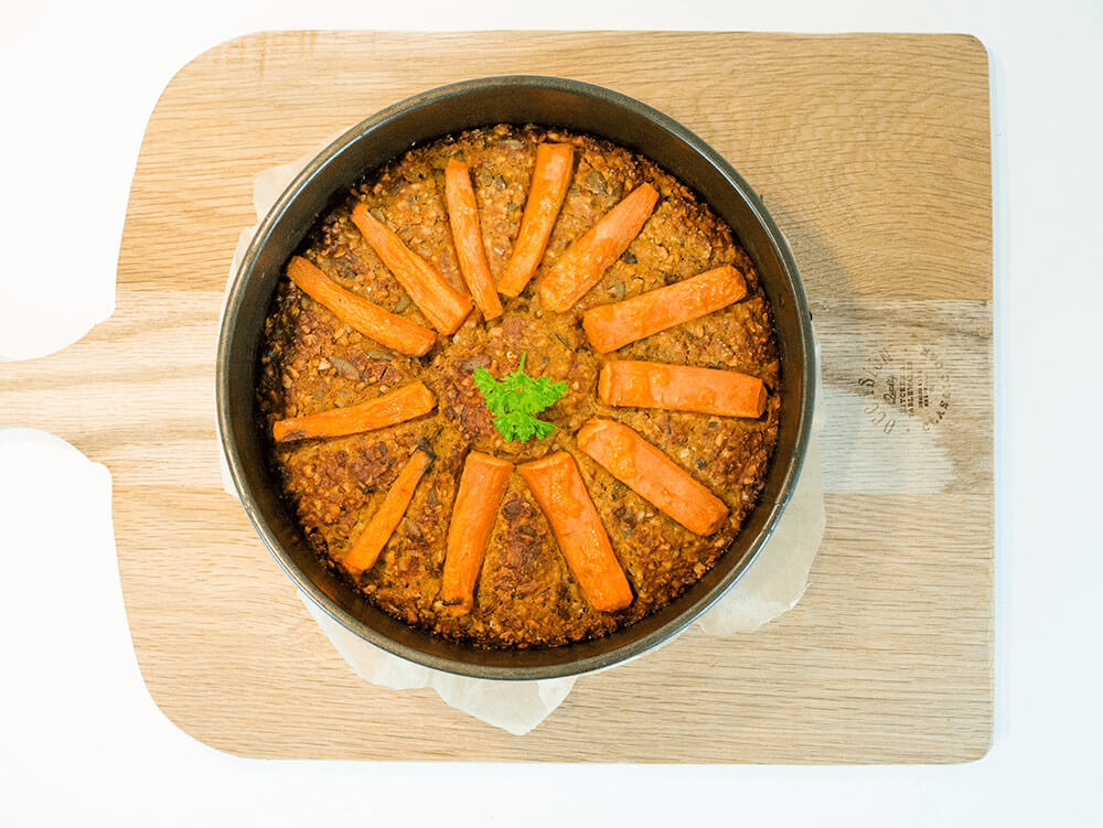 easy vegan nut roast