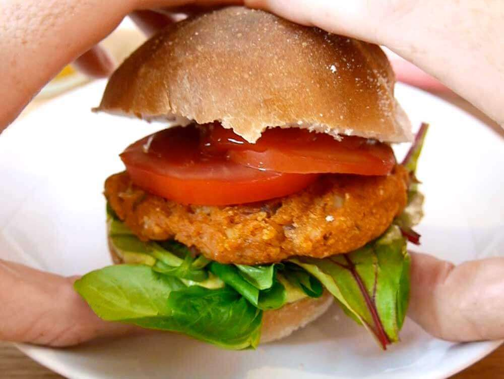 veggie burger vegan