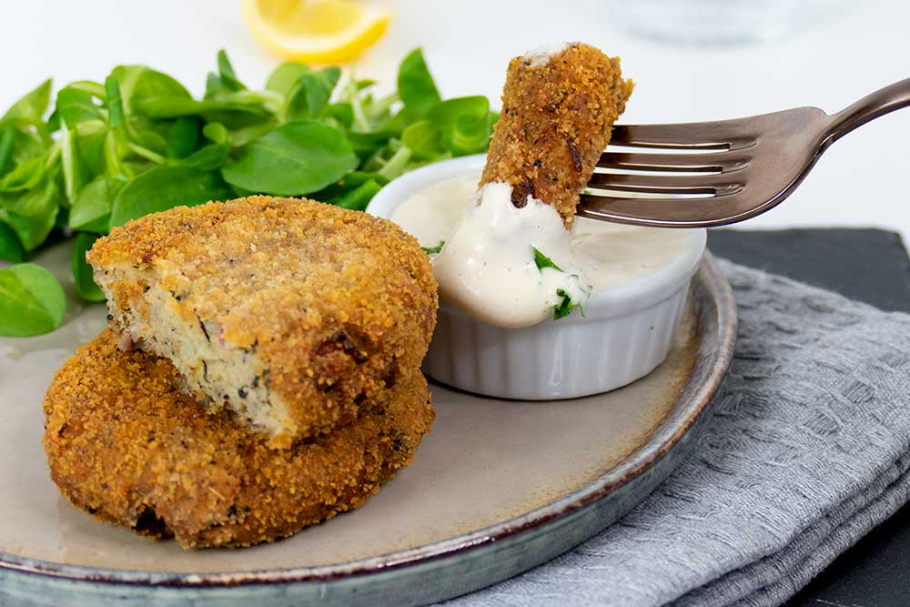 easy vegan fish cake recipe