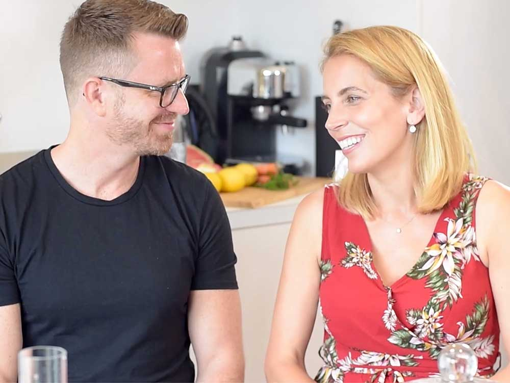 Jasmine Harman goes exceedingly vegan with Philipp Ertl