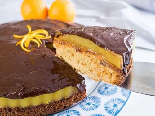 vegan jaffa cake if you like this orange cake
