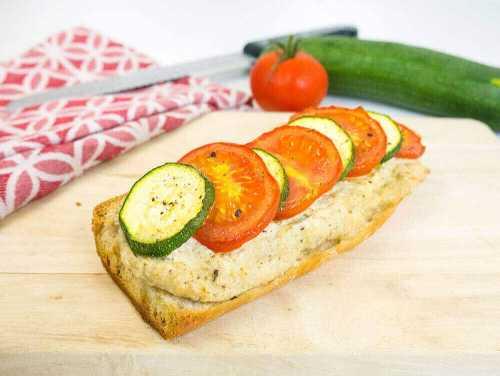 Veggie baguette