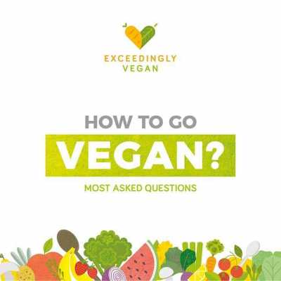 How to go vegan - the most asked questions - exceedinglyvegan.com