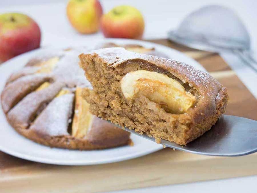 Easy Vegan Apple Cake Exceedingly Vegan