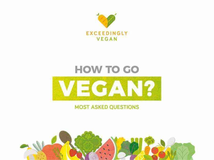 How to go vegan - the most asked questions