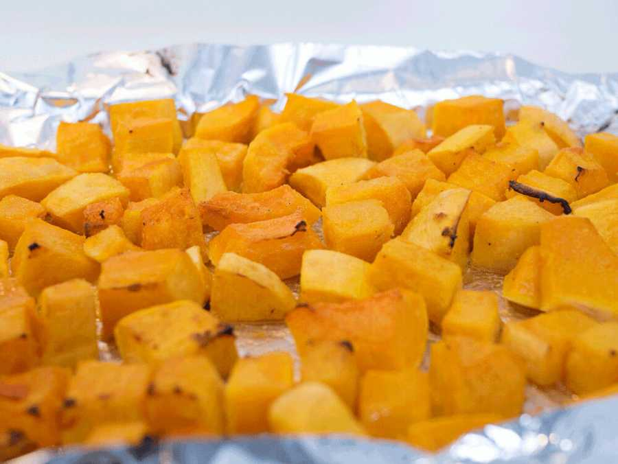 How to make roasted butternut squash