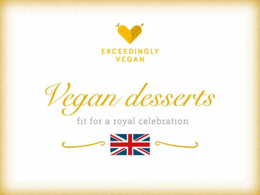 Royal vegan wedding cakes and desserts
