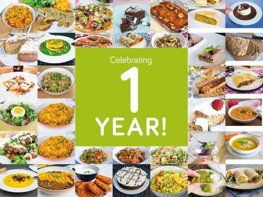 1 year anniversary of Exceedingly vegan! So what do vegans eat (video)?