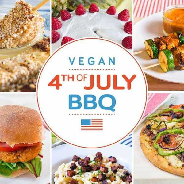 Vegan 4th of July BBQ special - 8 deliciously easy vegan BBQ recipes