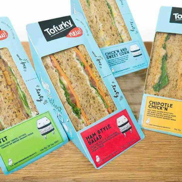 Tofurky launches vegan meat-free sandwiches in Wholefoods UK!